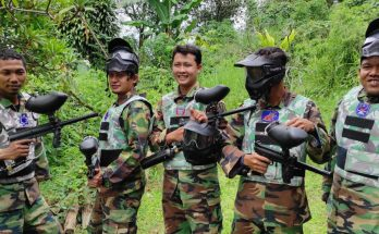 lokkasi paintball di puncak