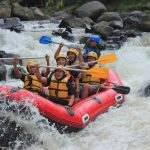 rafting puncak outbound gathering