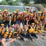 wisata outbound rafting pancawati
