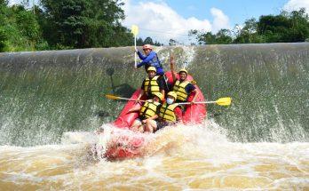 paket adventure outbound rafting di pancawati bogor