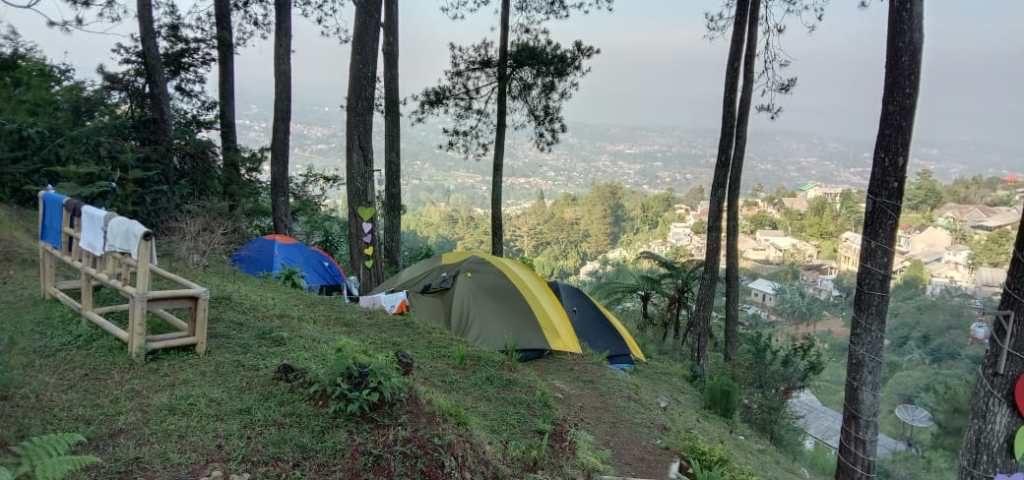 family camping ground di puncak bogor