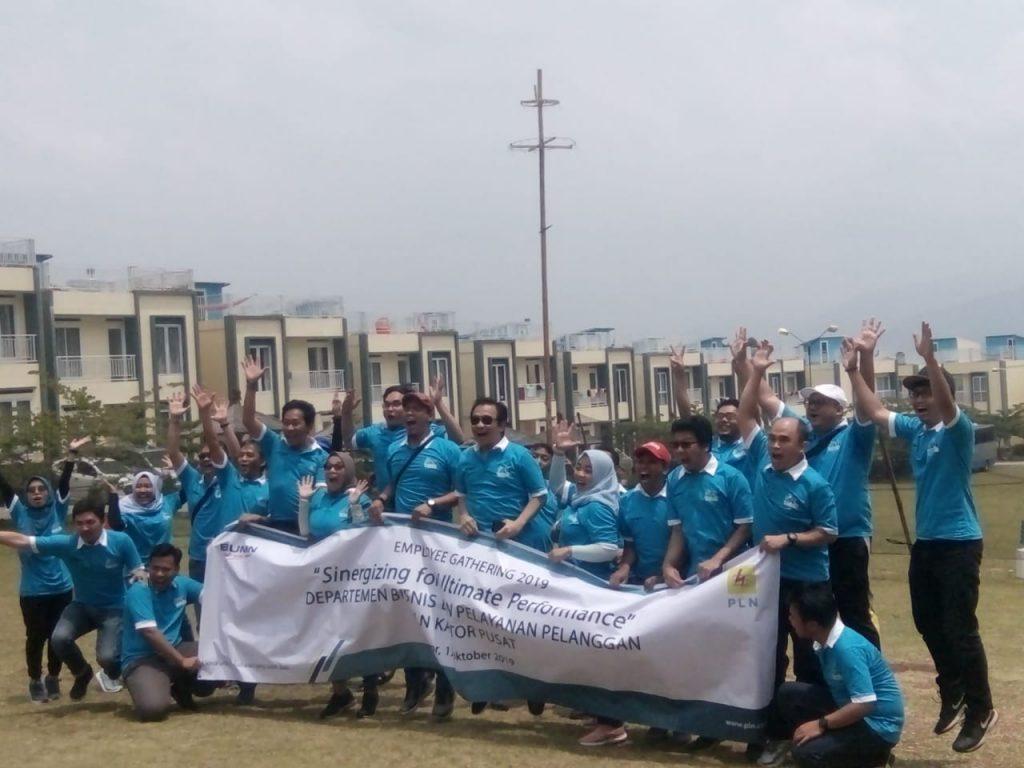 corporate event gathering puncak