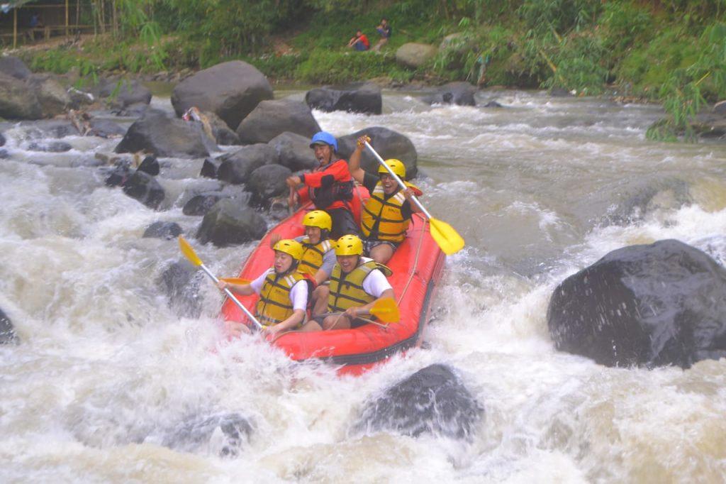 Rafting Puncak Bogor
