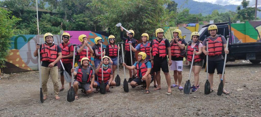 rafting puncak