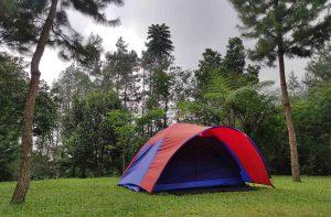 tempat camping di curug panjang