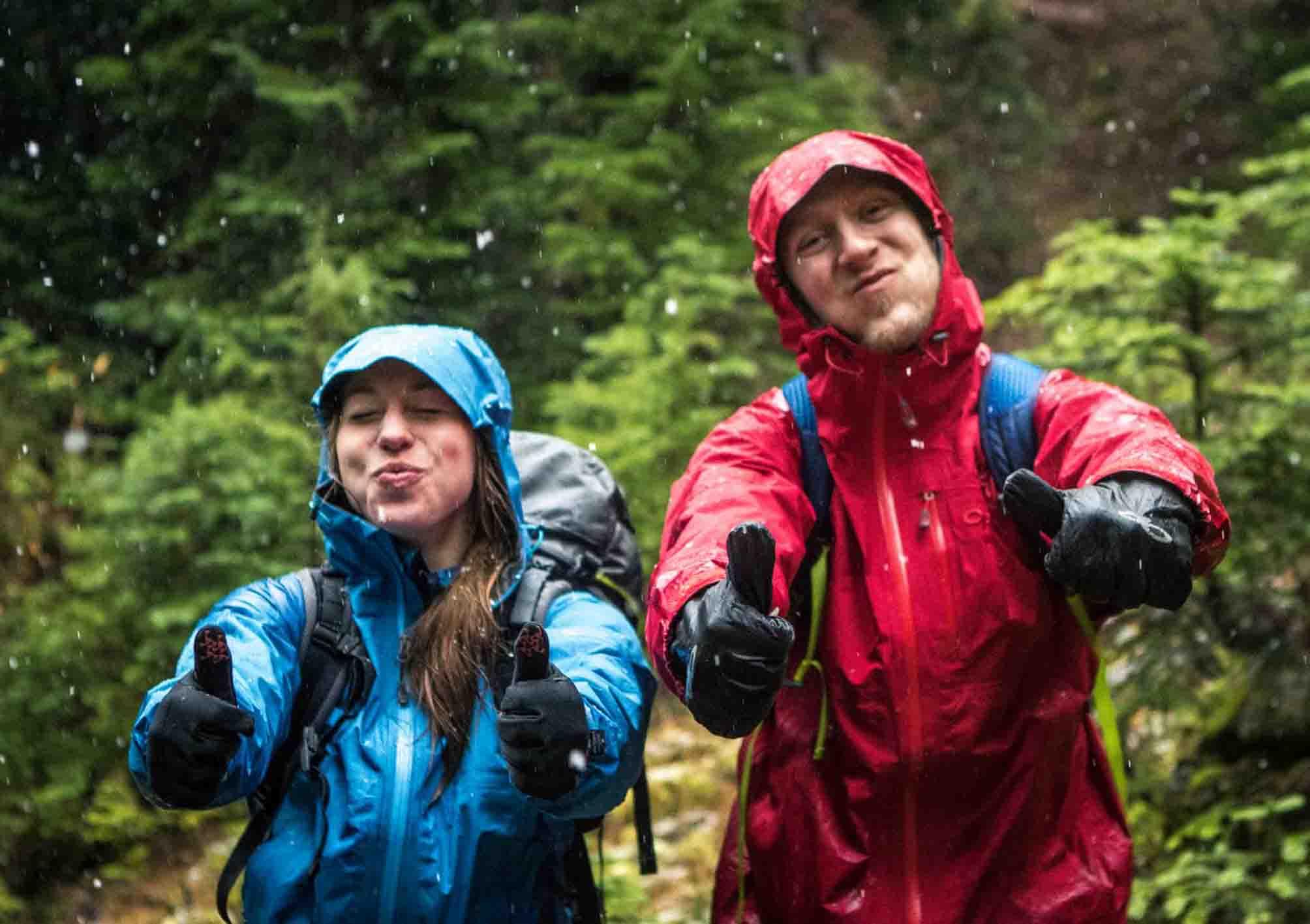 trekking dan hiking di bogor