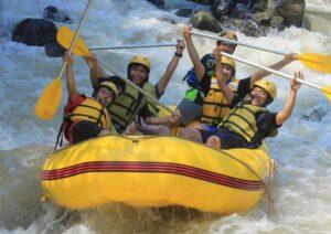 wisata rafting puncak
