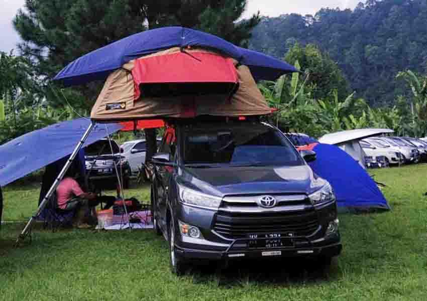 campervan di samara camp puncak